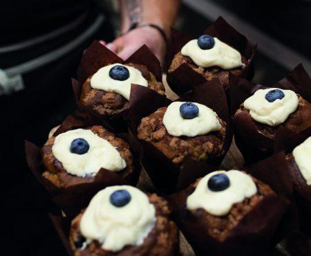 Blueberry Spelt  Muffins