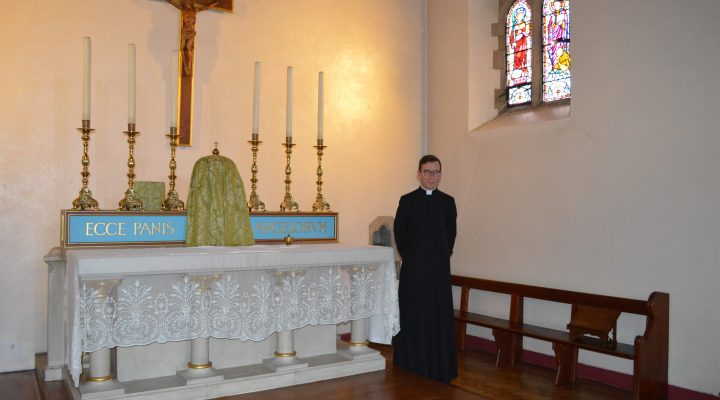 Father Jonathan in St Pancrus Lewes