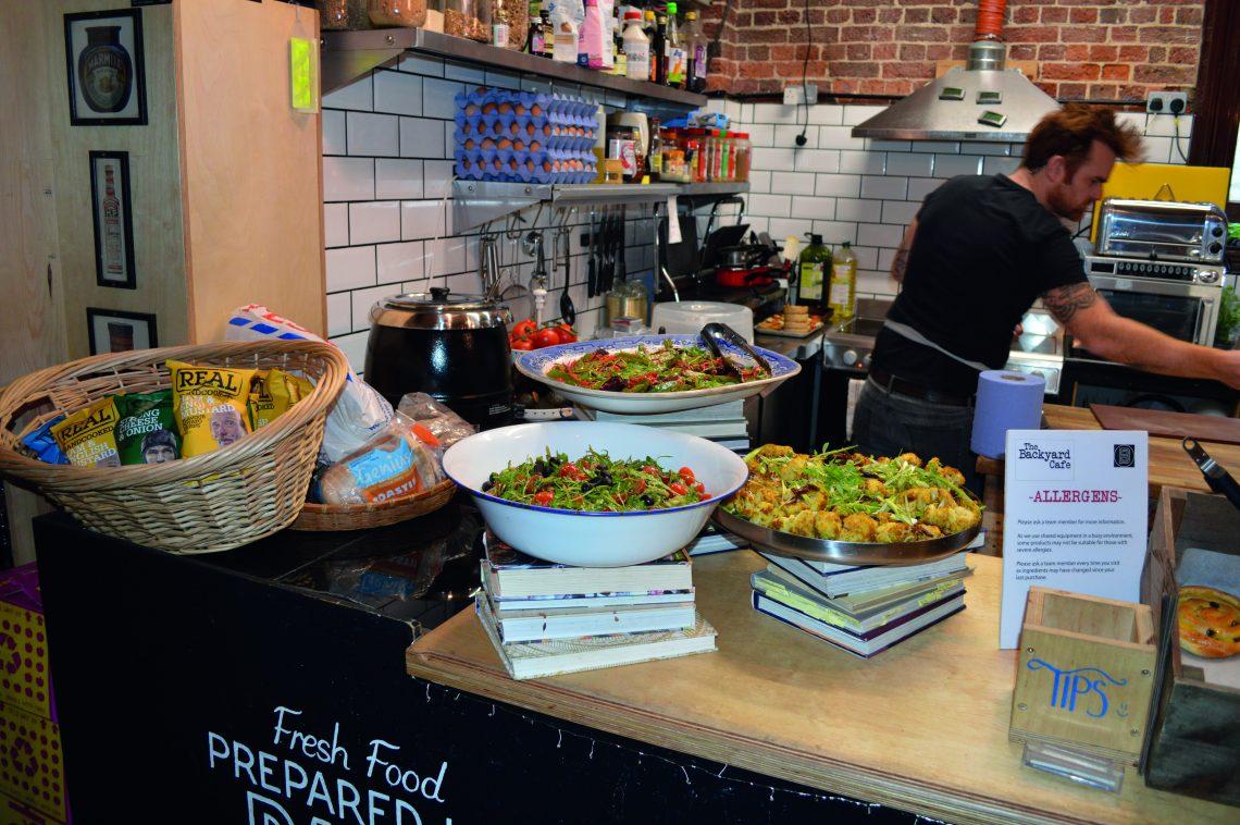 James Benning - Backyard Cafe Lewes