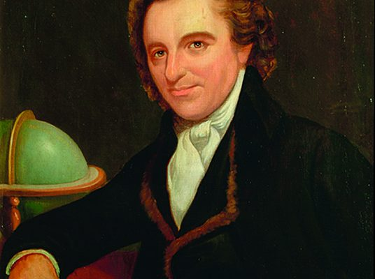 Image: Thomas Paine - with kind permission Sussex Archaeological Society