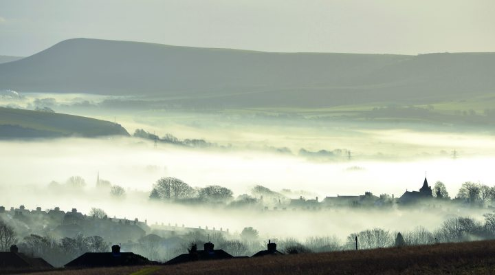 Lewes Covered in Fog