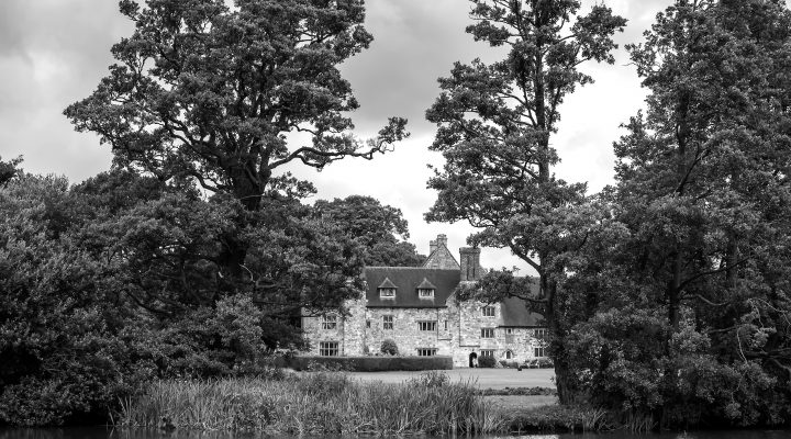 Exterior View of Michelham Priory and Gardens in Upper Dicker