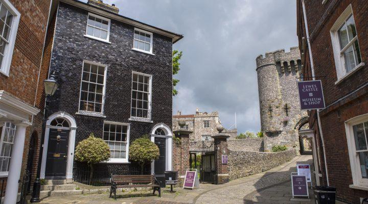 Lewes Castle - image:shutterstock.com