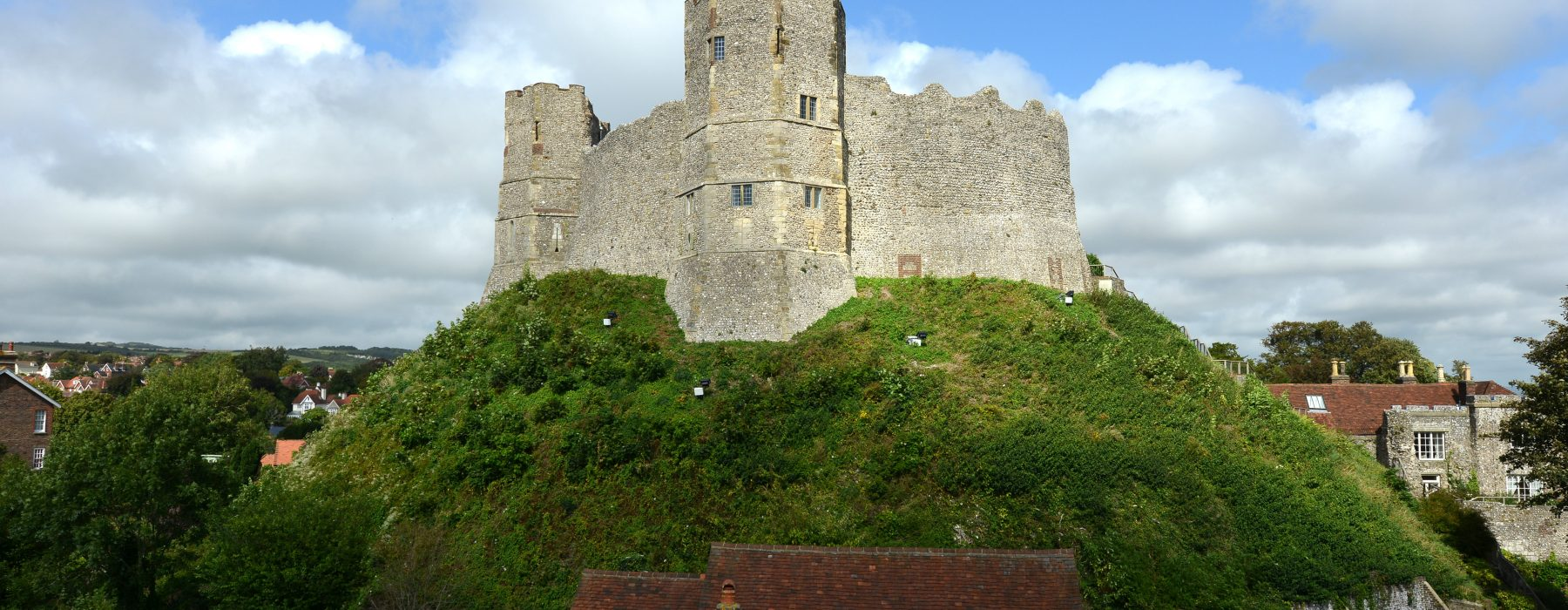 Norman castle at Lewes