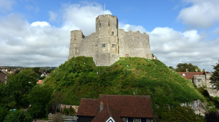 Norman castle at Lewes