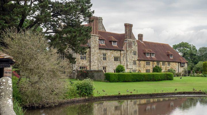 Exterior View of Michelham Priory in Upper Dicker, East Sussex