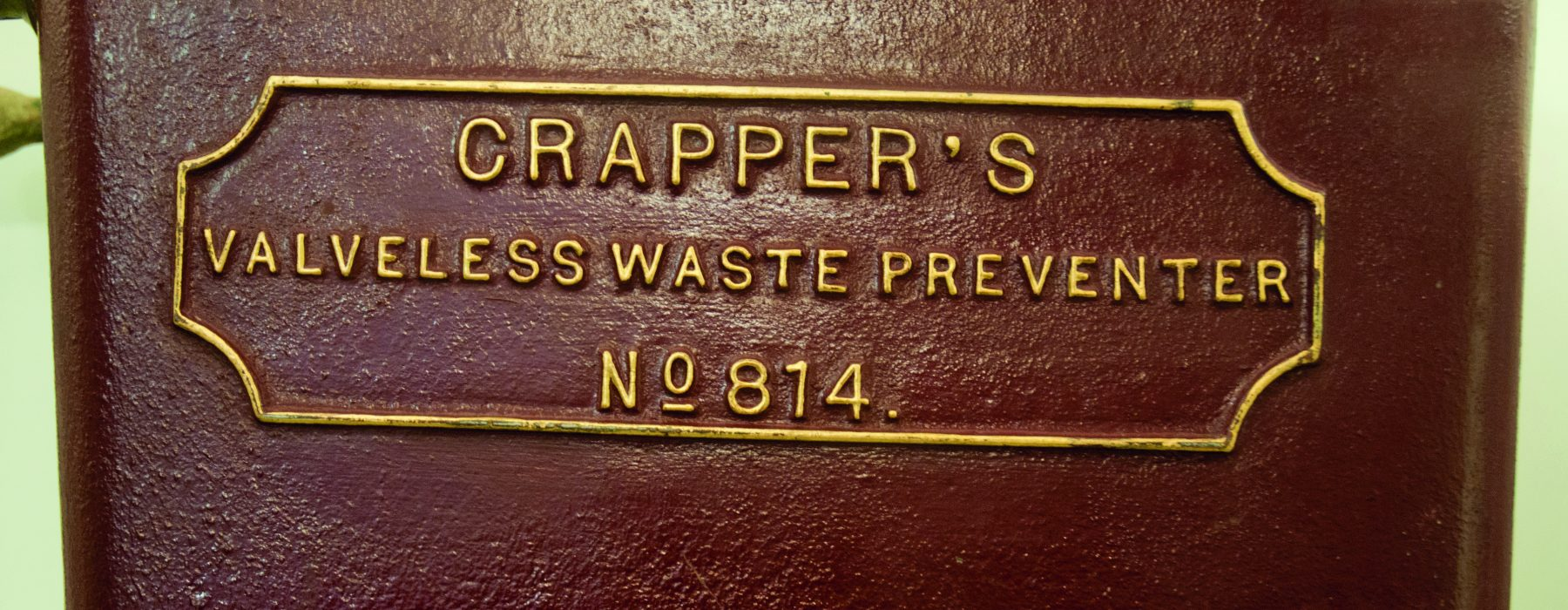 Picture of a Crapper