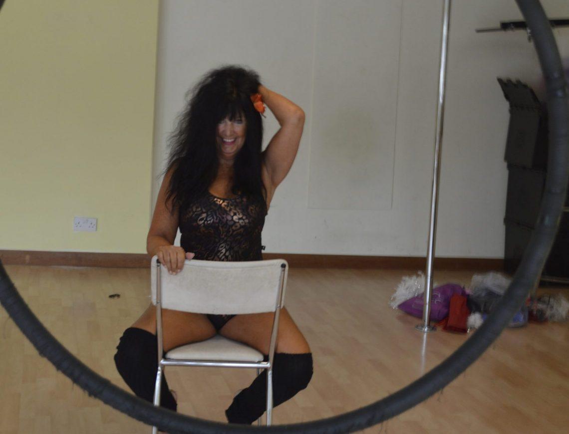 Christine Ash in her Studio