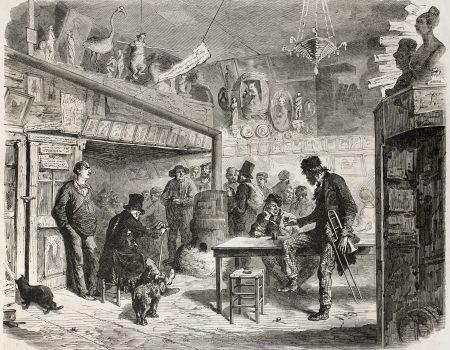 Pub Scene 1860