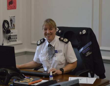 Jo Shiner, the Chief Constable of Sussex
